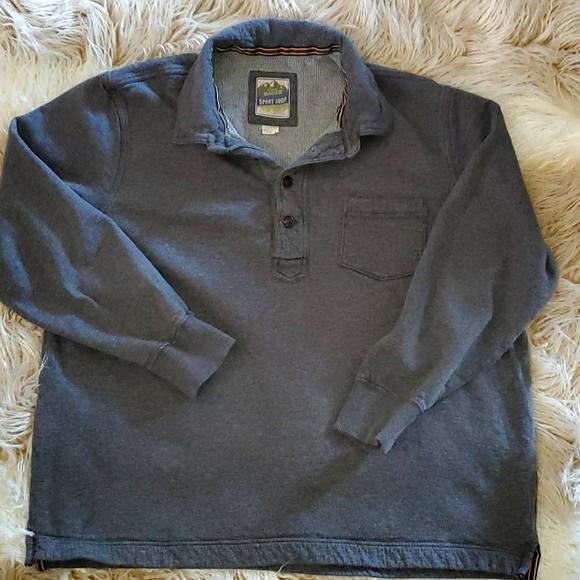 XXL Eddie Bauer Dark Grey Pullover